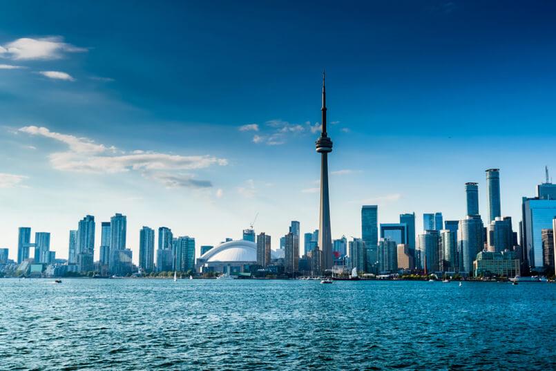 Beautiful Toronto skyline. Ontario, Canada