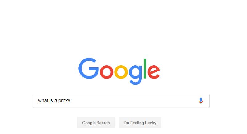 Google.com: What Is Proxy?